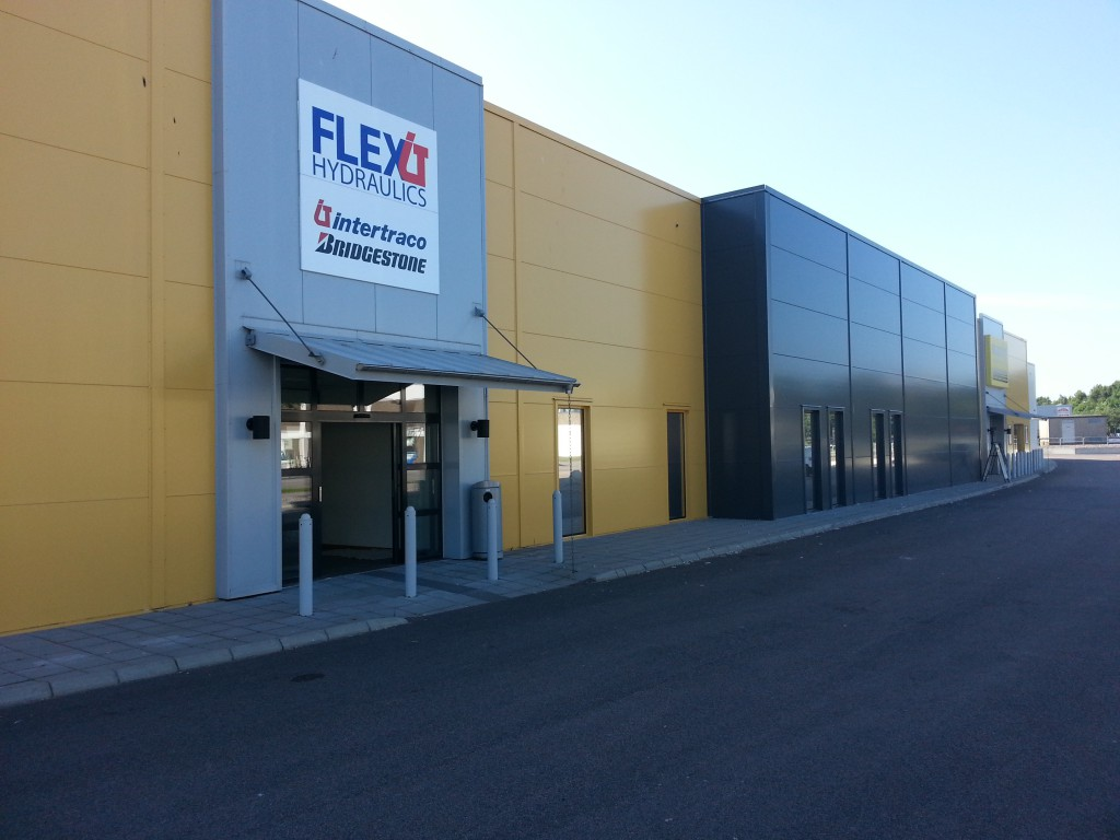 Huvudkontor Sverige Flexit Hydraulics Intertraco Bridgestone
