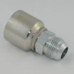4w one-piece rak utvändig JIC37° MJ10j slangkoppling intertraco